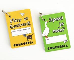Doe-boekjes bij kinderexpo's Concordia